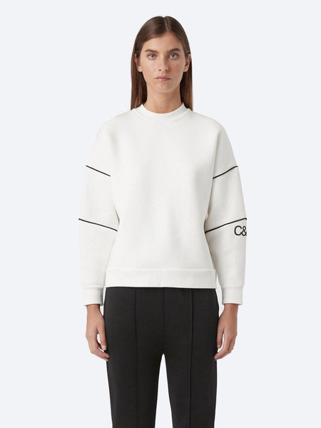 Yeltuor - CAMILLA AND MARC - Tops - CAMILLA AND MARC SYLVIE CREW SWEATER -  -