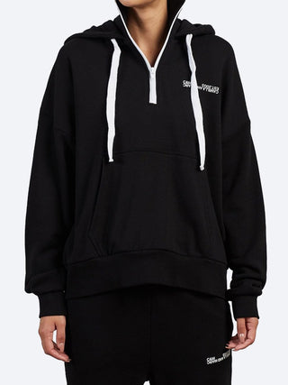 Yeltuor - CAMILLA AND MARC - Tops - CAMILLA AND MARC C&M LOGAN 2.0 HOODIE - Black -  6