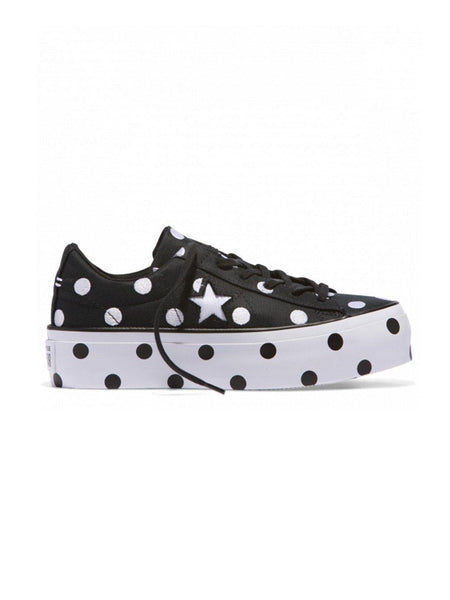 Yeltuor - CONVERSE - SHOES - CONVERSE ONE STAR PLATFORM EMBOSSED DOTS -  -