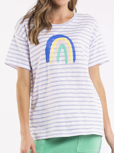 Yeltuor - ELM - Tops - ELM OVER THE RAINBOW TEE -  -