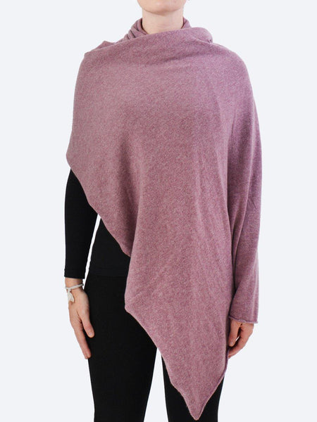 Yeltuor - JAMES MELBOURNE - Knitwear - JAMES CASHMERE WRAP - BERRY -  ALL