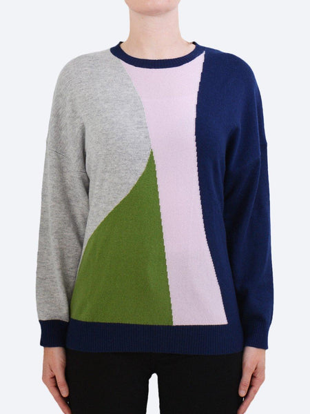 Yeltuor - JAMES MELBOURNE - Knitwear - JAMES CASHMERE & WOOL HAPPY KNIT - GOODNIGHT -  S