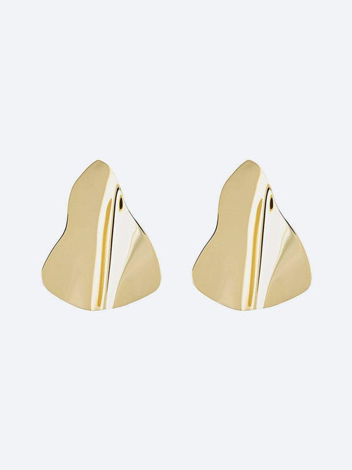 Yeltuor - PETER LANG - JEWELLERY - PETER LANG KITTY GOLD EARRINGS -  -