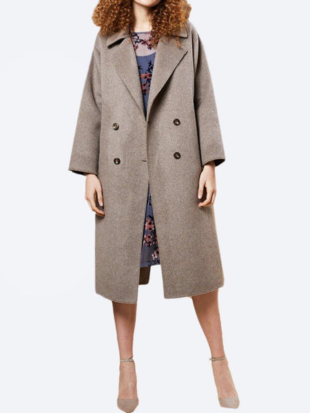 Yeltuor - M.A DAINTY - Jackets & Coats - M.A. DAINTY COOLER WOOL BLEND COAT -  -
