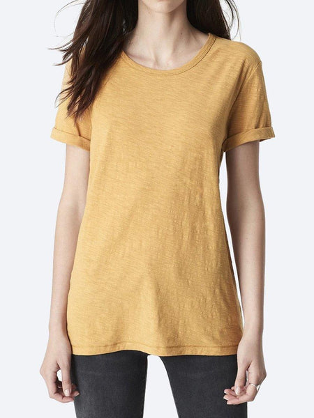 MAVI LUNA V NECK COTTON TEE