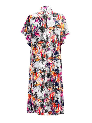 Yeltuor - MELA PURDIE - Dresses - MELA PURDIE GARDEN WATERCOLOUR DRESS -  -
