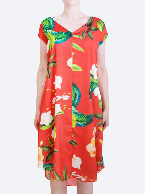 Yeltuor - MELA PURDIE - Dresses - MELA PURDIE SWAY DRESS PLANTATION RED -  -