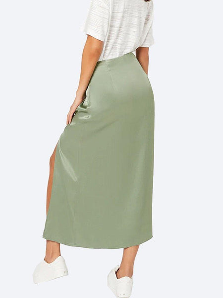 Yeltuor - MINKPINK - Skirts - MINKPINK SUN CATCHER SATIN SKIRT -  -