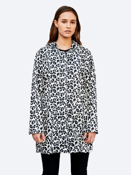 Yeltuor - PAQME - JACKETS & COATS - PAQME ANYDAY ACTIVE RAINCOAT - GEO LEOPARD -  XS