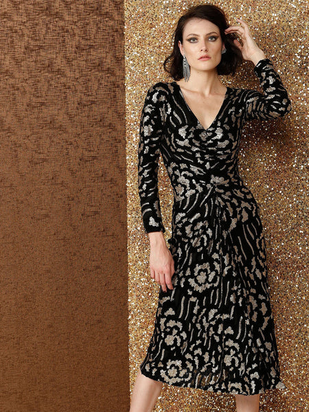 Yeltuor - SACHA DRAKE PTY LTD - Dresses - SACHA DRAKE DELTA SEQUIN DRESS -  -