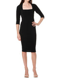Yeltuor - SACHA DRAKE PTY LTD - DRESSES - Sacha Drake Iris Dress 3/4 Sleeve -  -