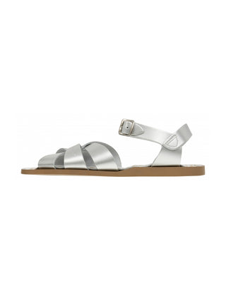 Yeltuor - SALT WATER - SHOES - Salt Water Original Sandal - SILVER -  4