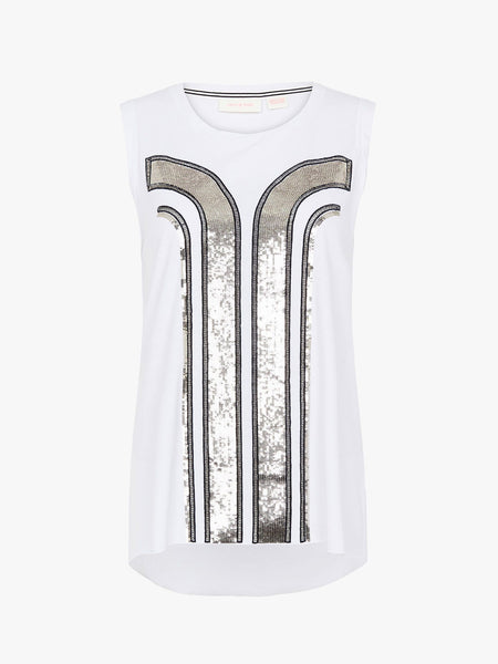 Yeltuor - SASS & BIDE - Tops - SASS AND BIDE DIVINE LOVE TANK -  -