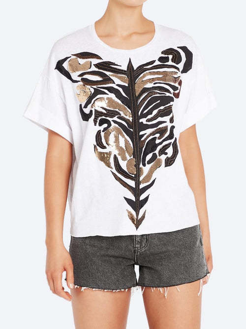 Yeltuor - SASS & BIDE - Tops - SASS & BIDE THE WILDERNESS TEE -  -