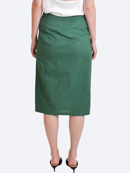 Yeltuor - SLIDE SHOW (TRENDY HOUSE) - Skirts - SLIDE SHOW LIZZIE LINEN SKIRT -  -