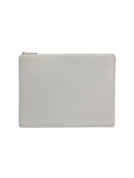 Yeltuor - STATUS ANXIETY - BAGS - STATUS ANXIETY ANTI HEROINE CLUTCH - LIGHT GREY -  N/A