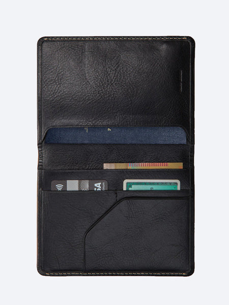Yeltuor - STATUS ANXIETY - WALLETS - STATUS ANXIETY CONQUEST PASSPORT WALLET -  -