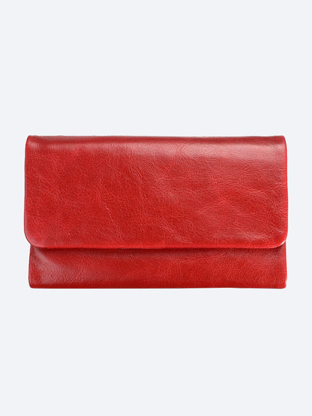 Yeltuor - STATUS ANXIETY - WALLETS - STATUS ANXIETY AUDREY WALLET - RED -  N/A
