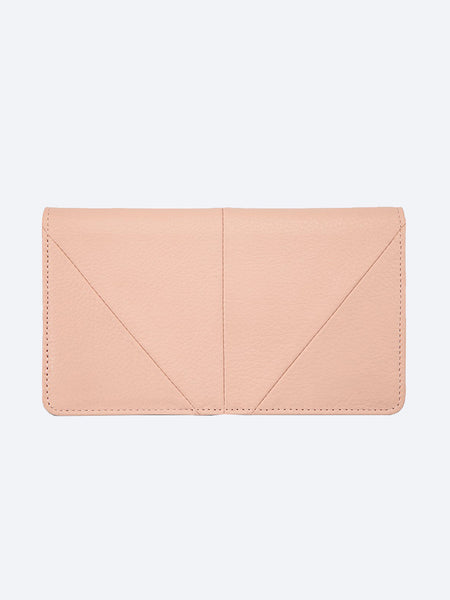 Yeltuor - STATUS ANXIETY - WALLETS - Status Anxiety Triple Threat Wallet - DUSKY PINK -  N/A