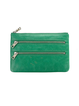 Yeltuor - STATUS ANXIETY - WALLETS - Status Anxiety Molly Wallet - EMERALD -  N/A