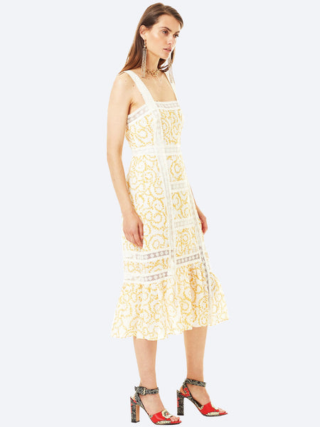 STEVIE MAY PERSIAN CHIC MIDI DRESS
