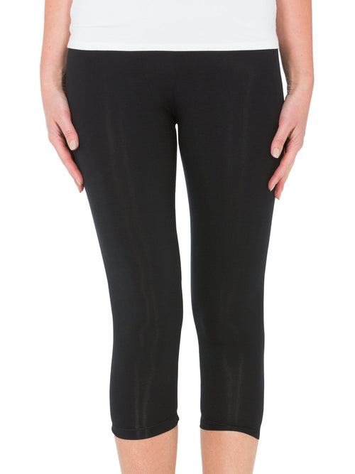 Yeltuor - TANI - PANTS - TANI CALF LEGGINGS - Black -  XS