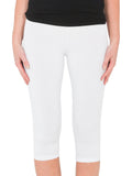 Yeltuor - TANI - PANTS - TANI CALF LEGGINGS - WHITE -  XS
