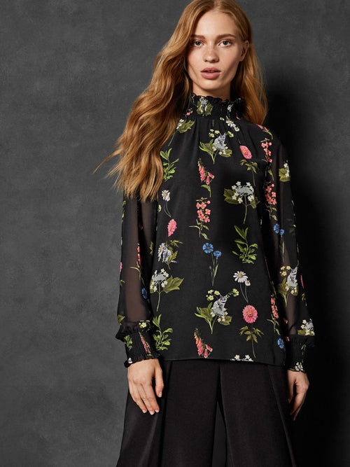 Yeltuor - TED BAKER - SHIRTS - TED BAKER FLORENCE SHEARED TAALIA BLOUSE -  -