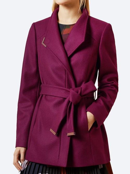 Yeltuor - TED BAKER - Jackets & Coats - TED BAKER DRYTAA SHORT COAT -  -
