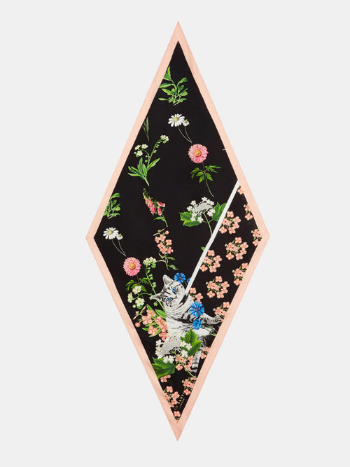 b1d1e7174621ad Yeltuor - TED BAKER - SCARVES - TED BAKER TASIA FLORENCE NECK SCARF - -