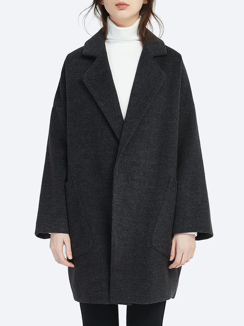 TIRELLI TEXTURED REVERE COAT