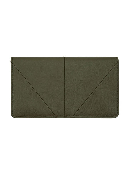 Yeltuor - STATUS ANXIETY - WALLETS - Status Anxiety Triple Threat Wallet - KHAKI -  N/A
