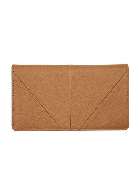 Yeltuor - STATUS ANXIETY - WALLETS - Status Anxiety Triple Threat Wallet - TAN -  N/A