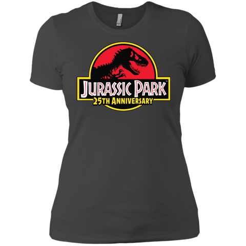 JurassicPark 25th Anniversary= Womens Cotton T-Shirt