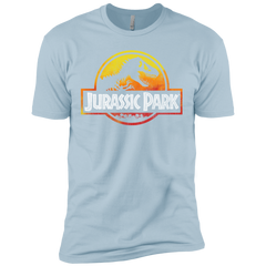 Jurassic Park Sunset Logo Mens Short Sleeve T-Shirt Mens Short Sleeve T-Shirt - FanClub Gifts