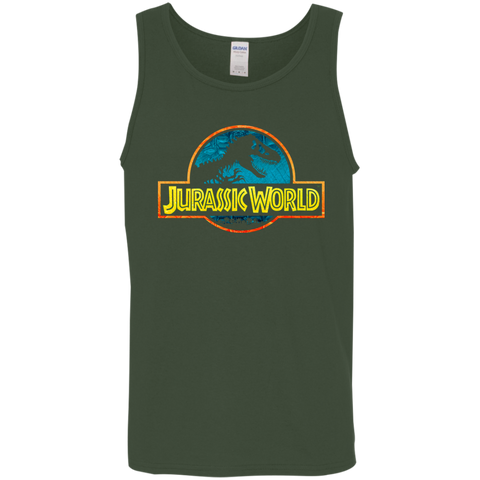 Jurassic Park Jurassic World Logo Mens Tank Top