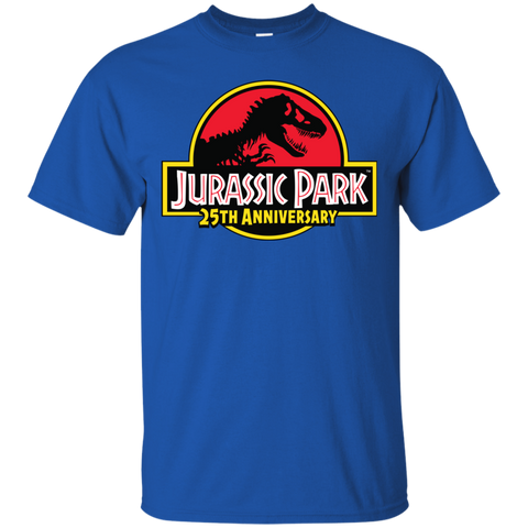 JurassicPark 25th Anniversary= Mens Cotton T-Shirt=22.99