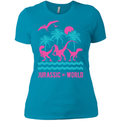 Jurassic Park Jurassic Island Womens Cotton T-Shirt Womens Cotton T-Shirt - FanClub Gifts