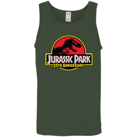 JurassicPark 25th Anniversary= Mens Tank Top
