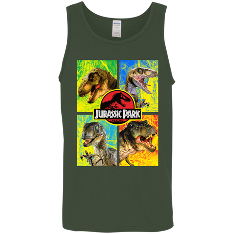 Jurassic Park Jurassic Defense Mens Tank Top