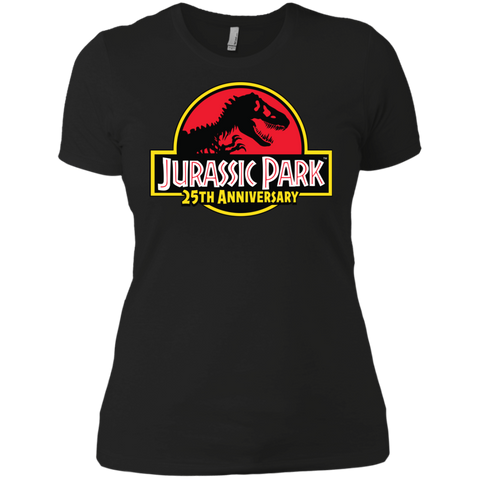 Jurassicpark 25th Anniversary Womens Cotton T-Shirt