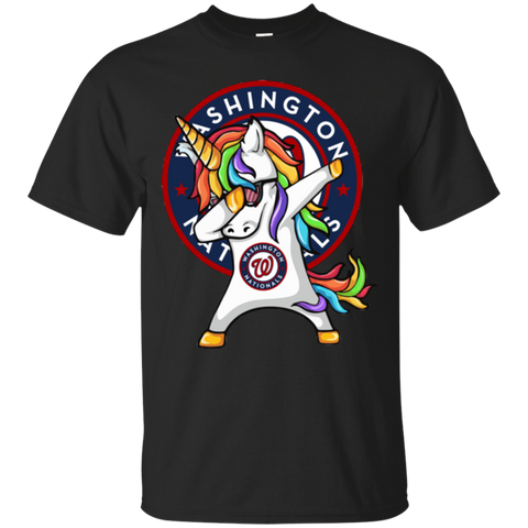 Unicorn Dabbing Washington Nationals Baseball Mlb Shirt