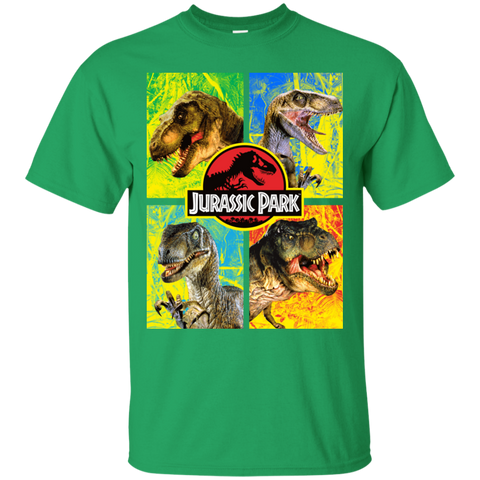 Jurassic Park Jurassic Defense= Mens Cotton T-Shirt=22.99