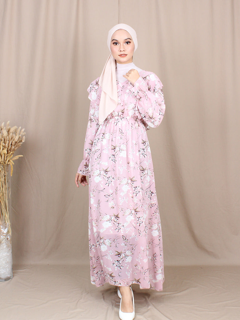 ROSEMARY LONG DRESS BD215