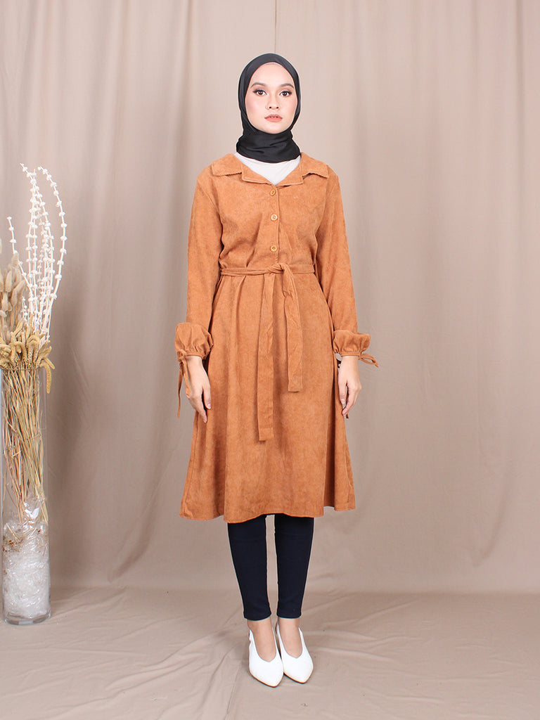 JOHNY COLLAR BLOUSE TUNIC BT777