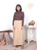 MAXI FRONT BUTTON SKIRT BS25