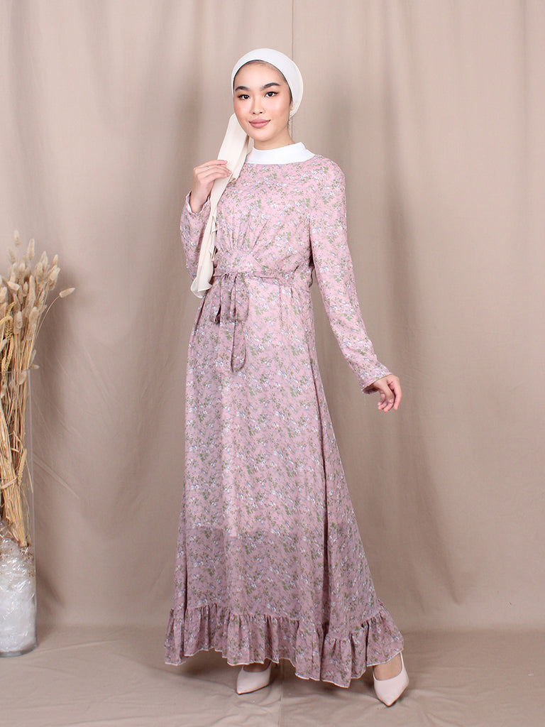LAURA LONG SLEEVES DRESS BD251