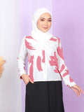 PASTEL PRINTED BLOUSE BT925