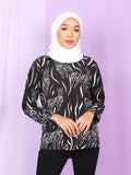 ZEBRA PATTERN BLOUSE SHIRT PLUS BT909