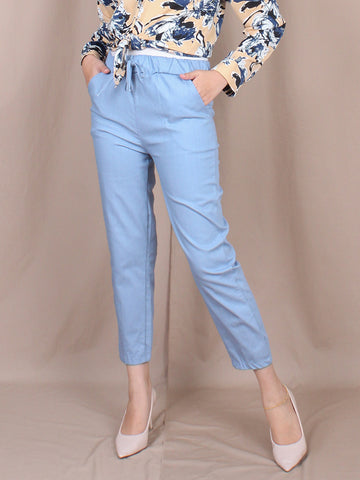CROP TROUSERS PANTS BP094